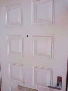 ドアスコープ使用前外側