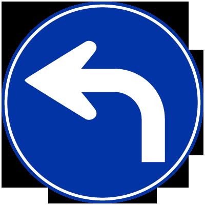 指定方向外進行禁止(左)