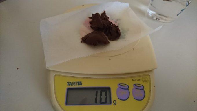 チョコレート10g