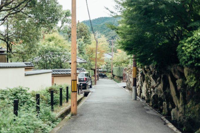 蹴上インクラインから南禅寺への道